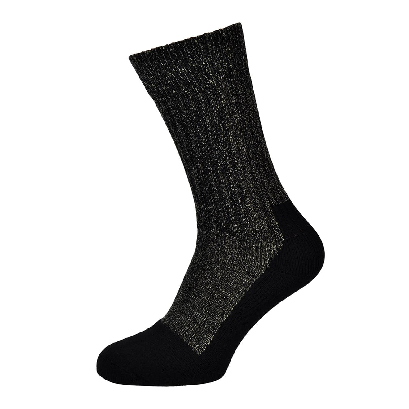 Red Wing Deep Toe-Caped Sock Black
