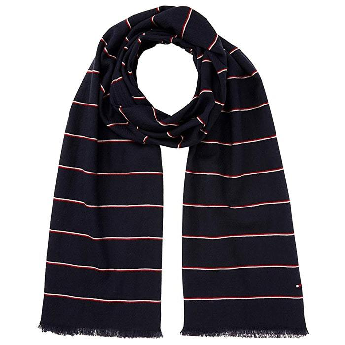 Tommy Hilfiger Corporate Stripe Scarf