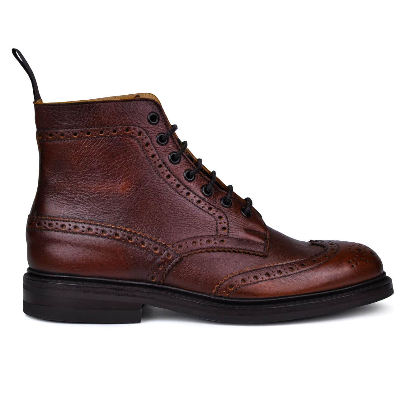 Trickers Stow Brogue Boot Dainite Sole