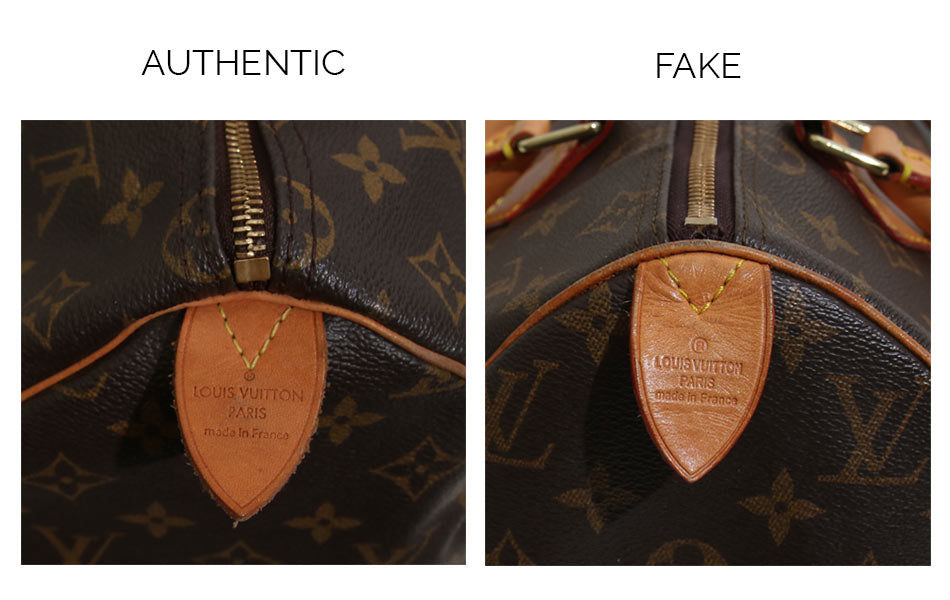 405b5e4e35d2 ... authentic Speedy compared to the fake one. Louis Vuitton Font