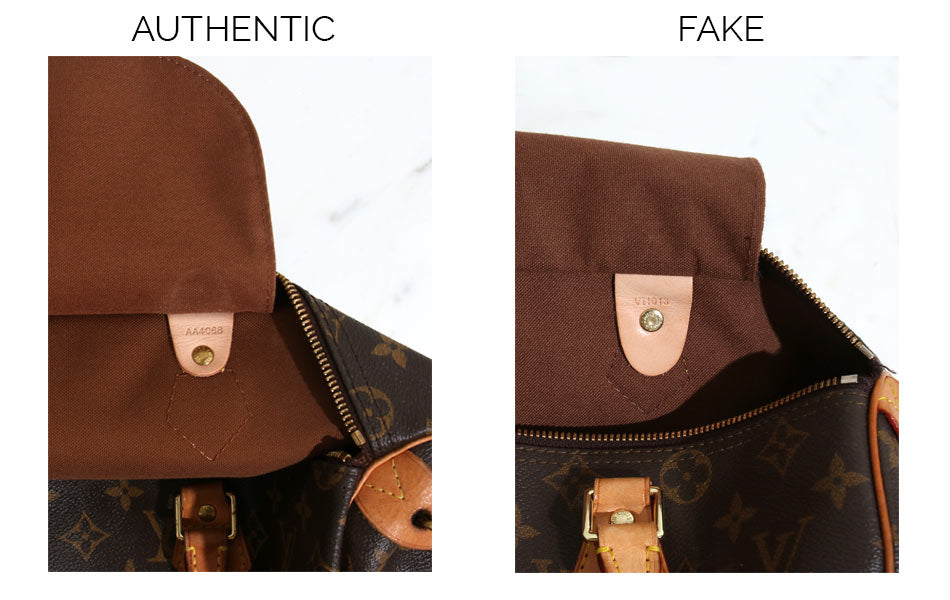 d0557b4643c2 7 Ways to Spot a Fake Louis Vuitton Speedy – Sabrina s Closet