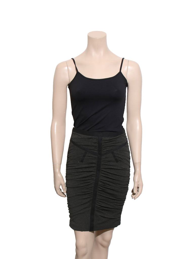 D&G Ruched Pencil Skirt