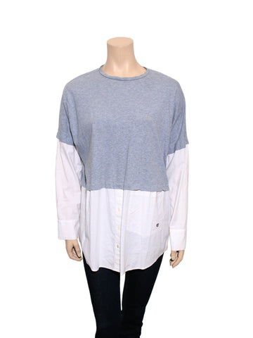 Derek Lam Long Sleeve Top
