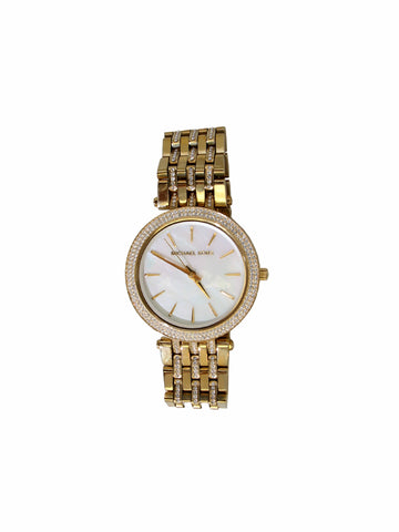 Michael Kors MK 3219 Gold-Tone Watch