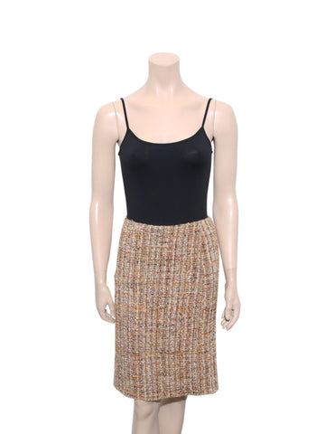 Moschino Tweed Skirt