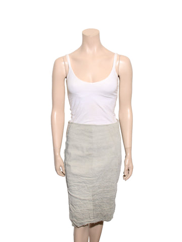 Donna Karen Crinkle Pencil Skirt