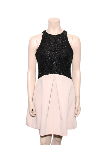 Halston Heritage Sequin Dress