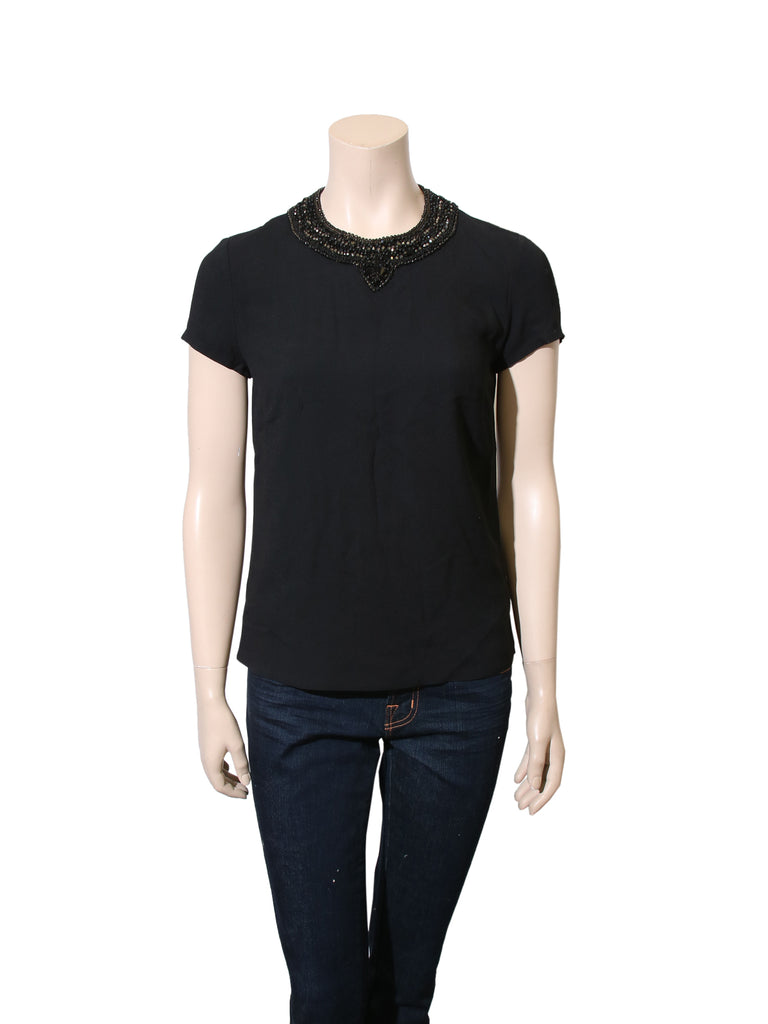 Ralph Lauren Embellished Top