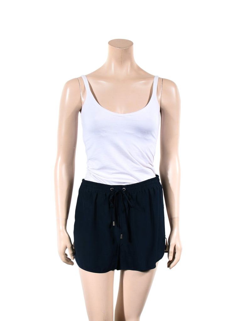 Parker Silk Drawstring Shorts