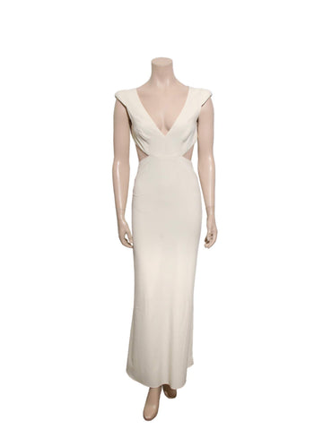 Halston Heritage Cut-Out Gown