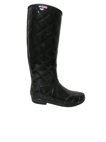 Hunter Quilted Rubber Rain Boots