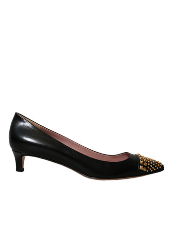 Gucci Studded Pointed Pumps