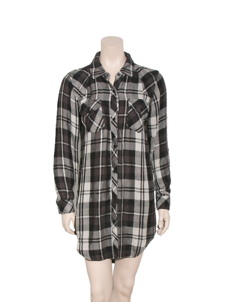 Rails Plaid Shirt Dress