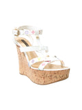 Louis Vuitton Multicolor Monogram Wedge Sandals