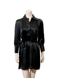 Halston Heritage Silk Shirt Dress