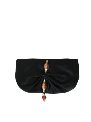 Yves Saint Laurent Satin Clutch Bag