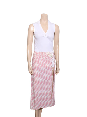 Christian Dior Vintage Diorissimo Cover Up Skirt