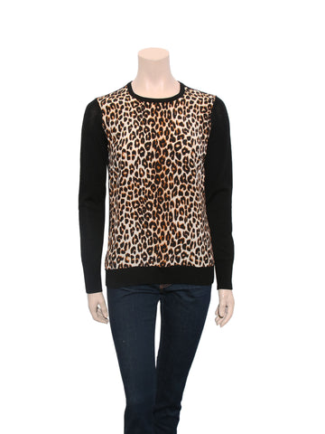 Equipment Leopard Print Top