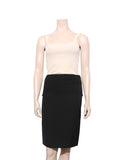 Lanvin Wool Pencil Skirt with Bow at Back