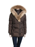 Mackage Adali-F5 Fitted Down Coat with Fur Hood