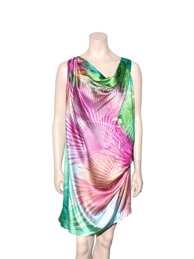 Just Cavalli Printed Silk Dress