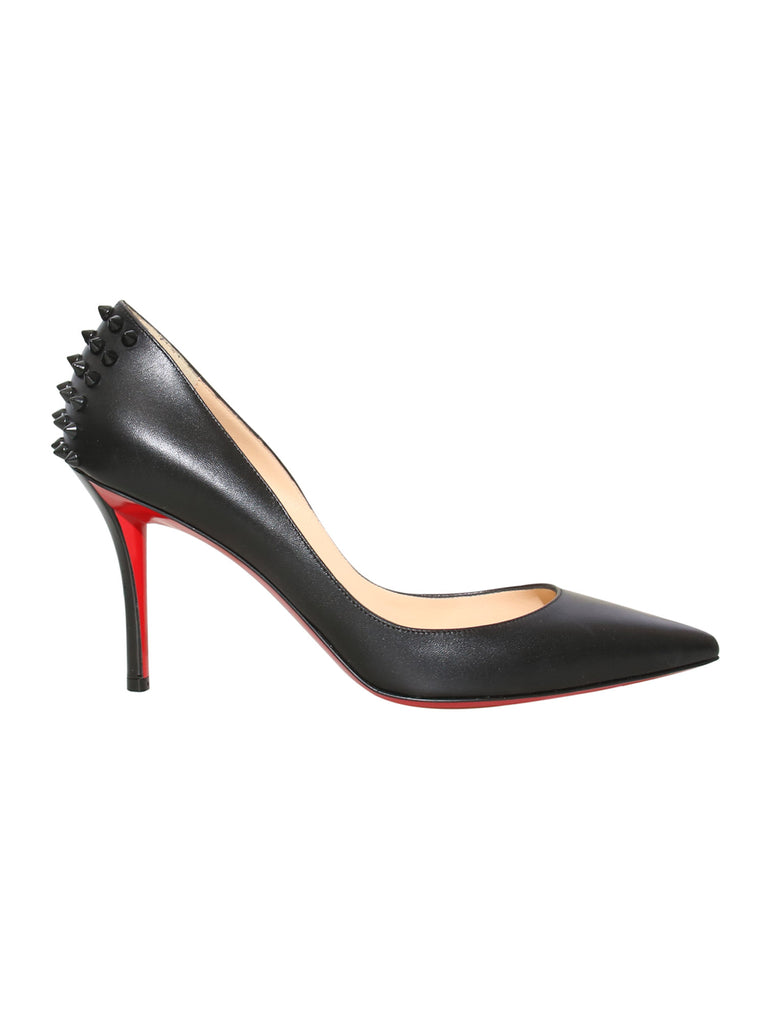 Christian Louboutin Studded Pointed Leather Pumps