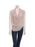 Helmut Lang Draped Top