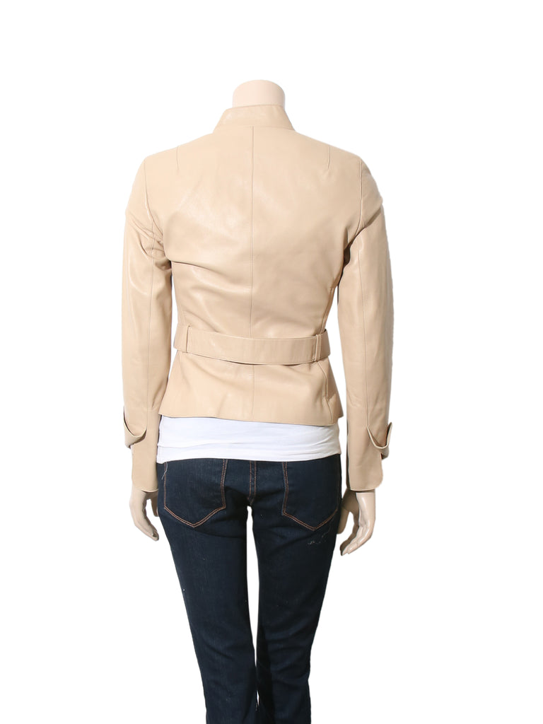 Akris Punto Leather Jacket