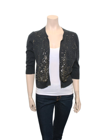 Eileen Fisher Sequin Cardi