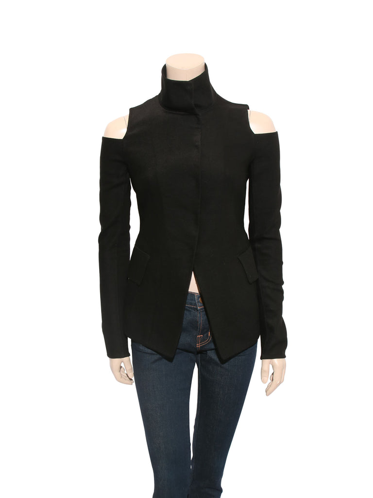 Donna Karan Cut-Out Top