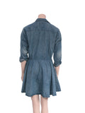 Current/Elliott Denim Shirt Dress
