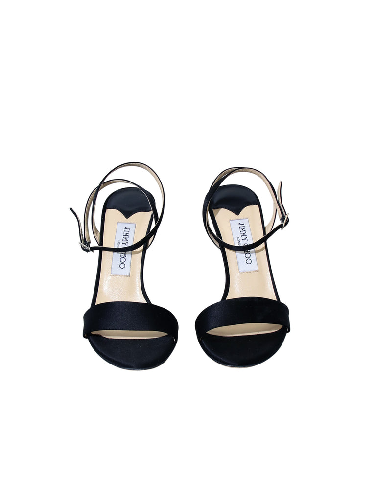 Jimmy Choo Satin Sandals