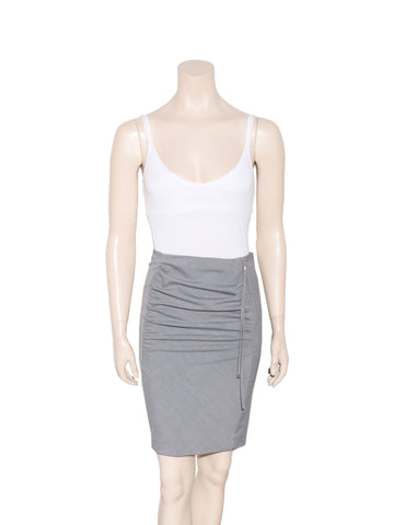 Louis Vuitton Ruched Pencil Skirt