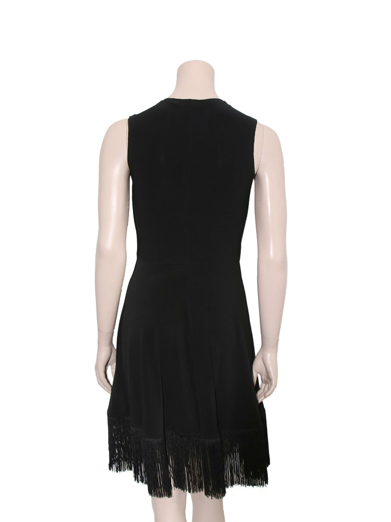 Norma Kamali Fringe Dress