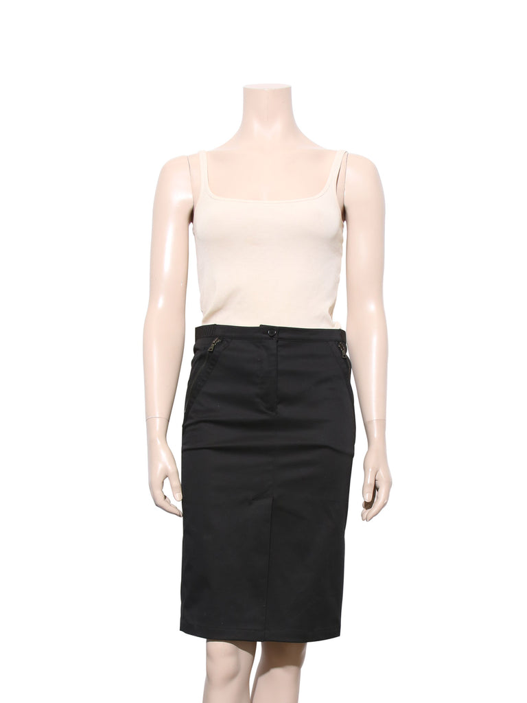 Prada Cotton Pencil Skirt