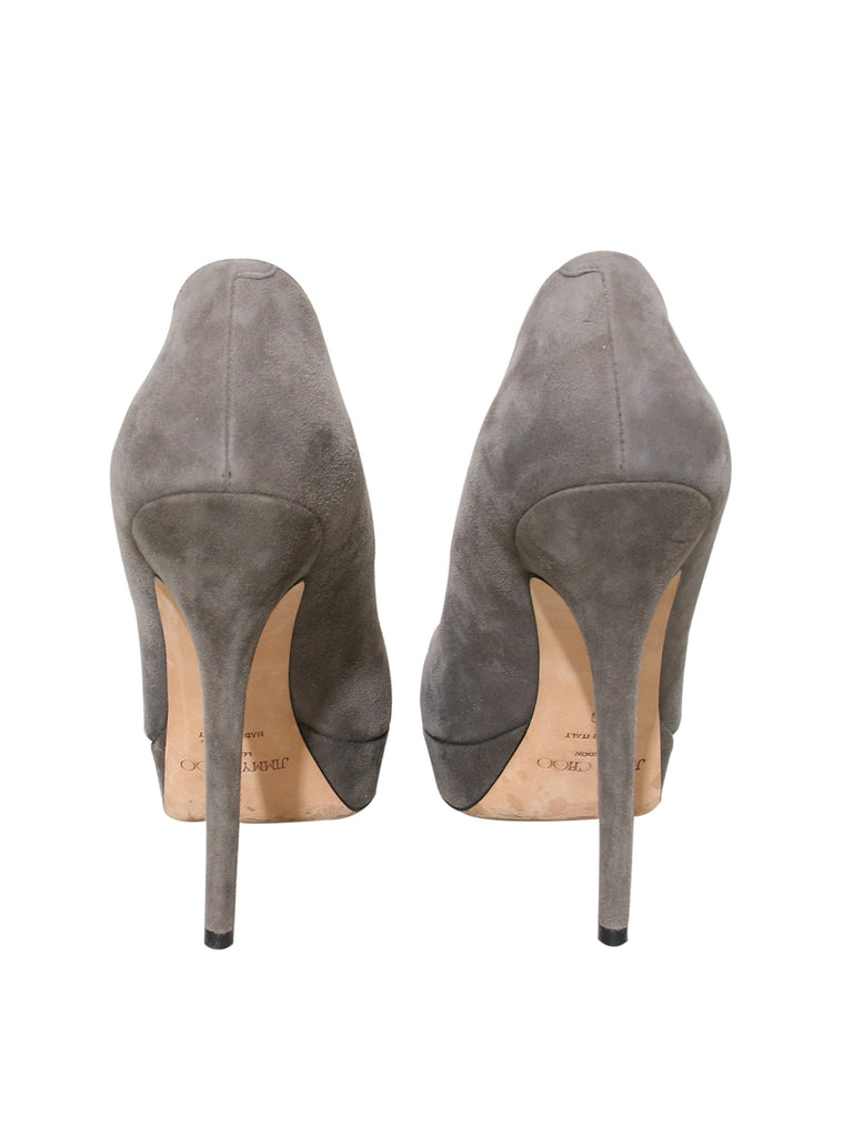 Jimmy Choo Suede Platform Pumps