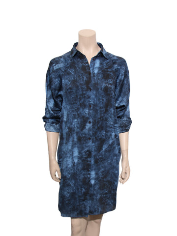 Michael Kors Tie-Dye Shirt Dress