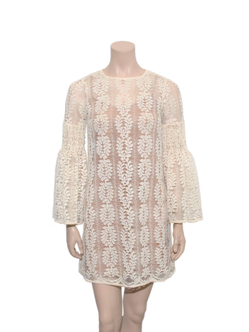 Michael Kors Bell Sleeve Lace Dress