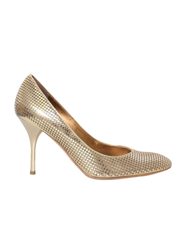 Roberto Cavalli Metallic Pumps
