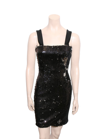 Galvan Salar Sequin-Embellished Mini Dress