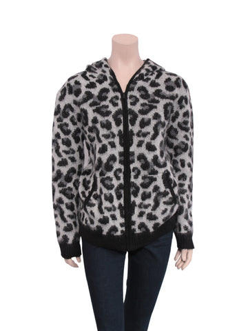 Maje Leopard Sweater