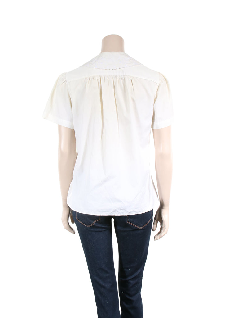 Ralph Lauren Embroidered Blouse
