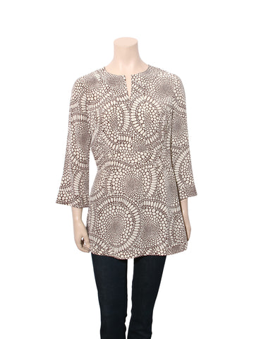 Tory Burch Printed Silk Tunic