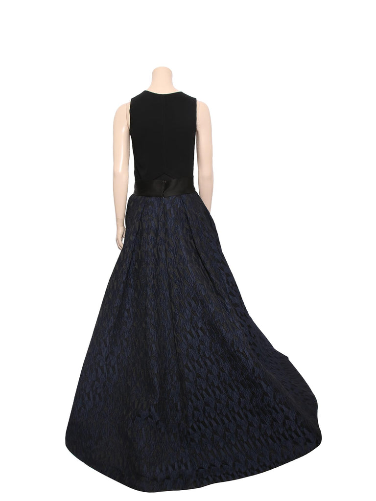 Prabal Gurung Jacquard High-Low Skirt