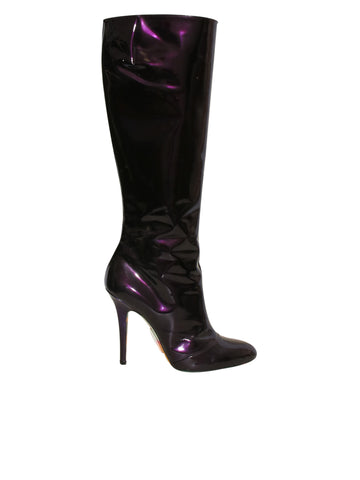 Emilio Pucci Patent Leather Boots