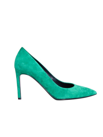 Hugo Boss Suede Pointed Pumps