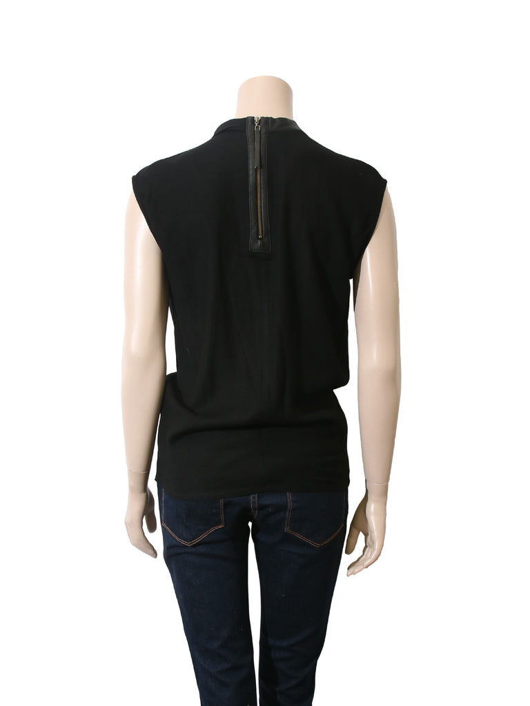 Helmut Lang High-Neck Top