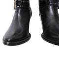 Cesare Paciotti Leather Boots