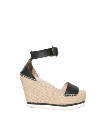 Chloé Espadrille Wedge Sandals