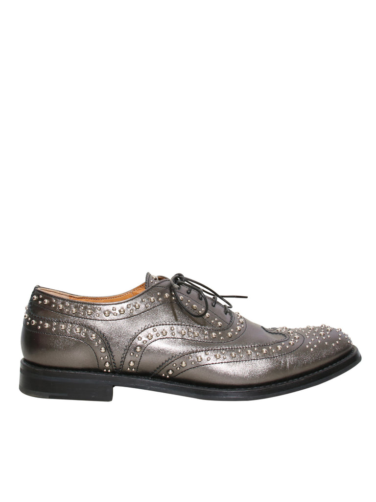 Church's Burwood Studded Leather Oxfords